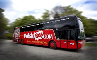 Autokar firmy Polski Bus