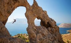 Grecka wyspa Kalimnos przyciąga wspinaczy z całego świata