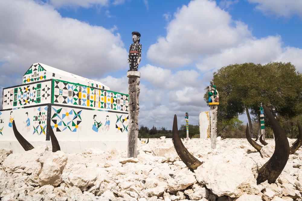 Grobowiec na Madagaskarze